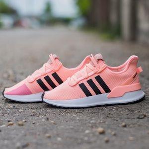 Adidas U Path Running Shoe Orange Black G27996 NWT